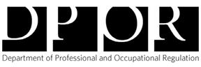 DPOR - Department of Professional and Occupational Regulation
